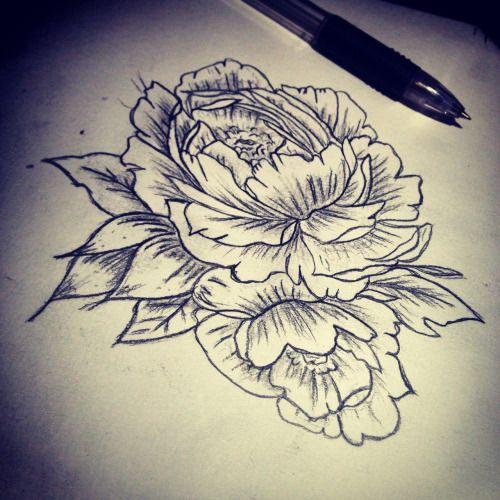 Alternative Floral Design Tattoos