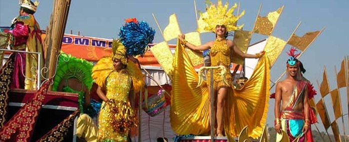 Among the many colorful feasts and festivals celebrated in Goa, Goan Carnival celebrate in the mid February is one of the most awaited one.
