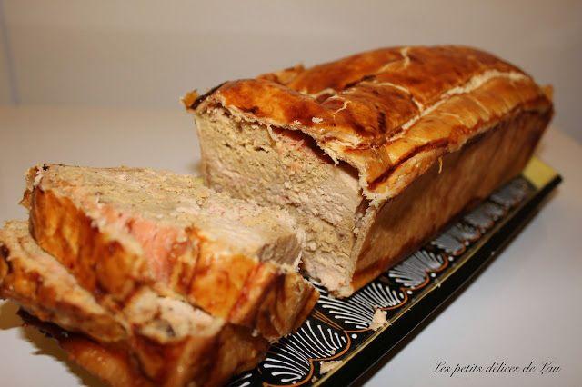 Les petits délices de Lau: Pâté en croûte aux deux saumons et noix de Saint-J...