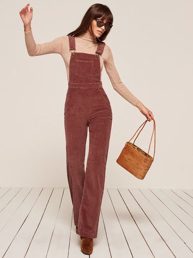 New sensible fall options just arrived. This is a wide leg overall with pockets and a center back zipper.