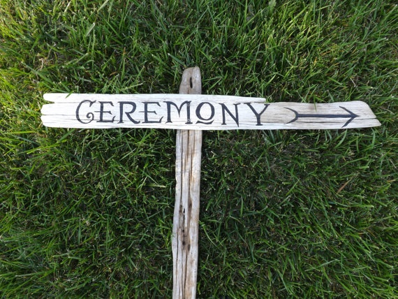 Renaissance or Medieval Wedding Ceremony Sign by SimmonsRanch, $32.00