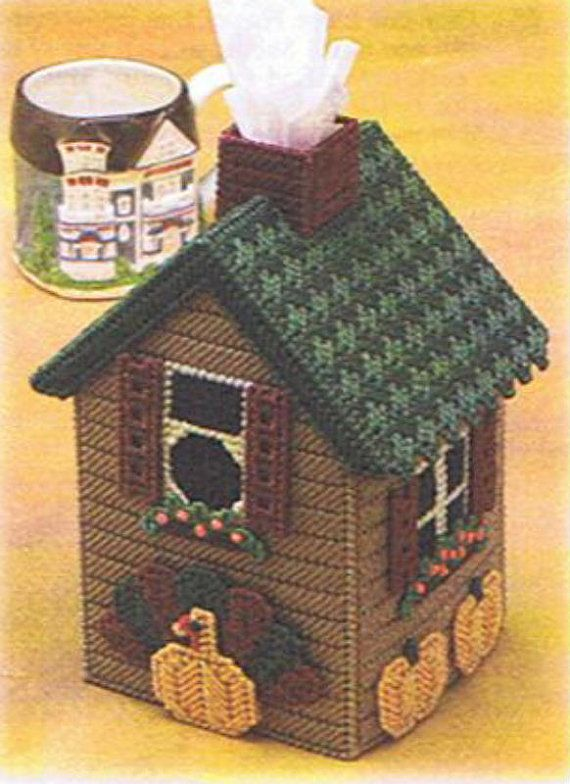 THANKSGIVING HOUSE Tissue Box Cover