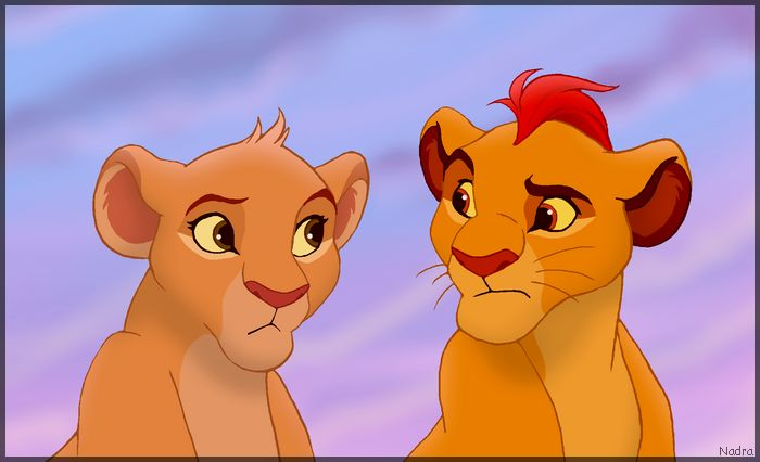 Kion And Tiifu By Hydracarina On Deviantart Disney