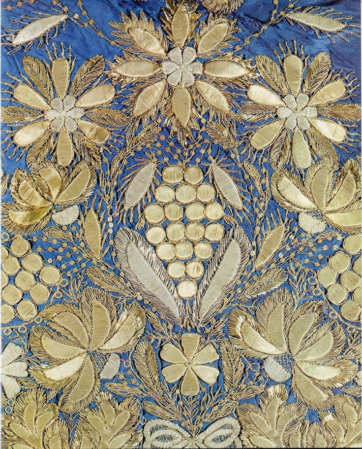 RUSSIAN EMBROIDERY XVII-XX