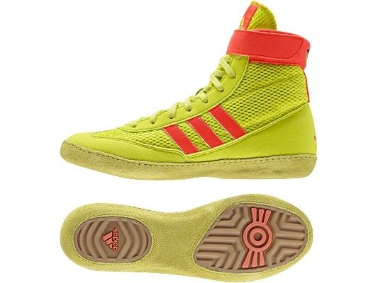 Adidas Combat Speed 4 Boxing Shoes - Yellow