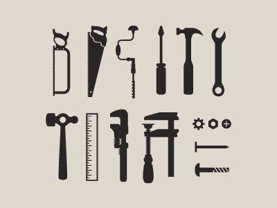 set of tool icons by matt yow