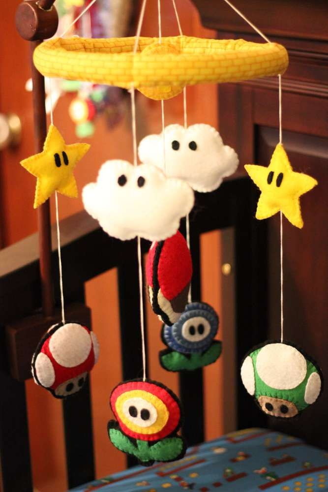 Richelle's Mario themed Baby Shower | CatchMyParty.com