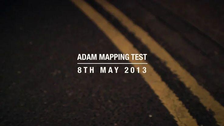 VAUXHALL ADAM | Test Mapping on Vimeo