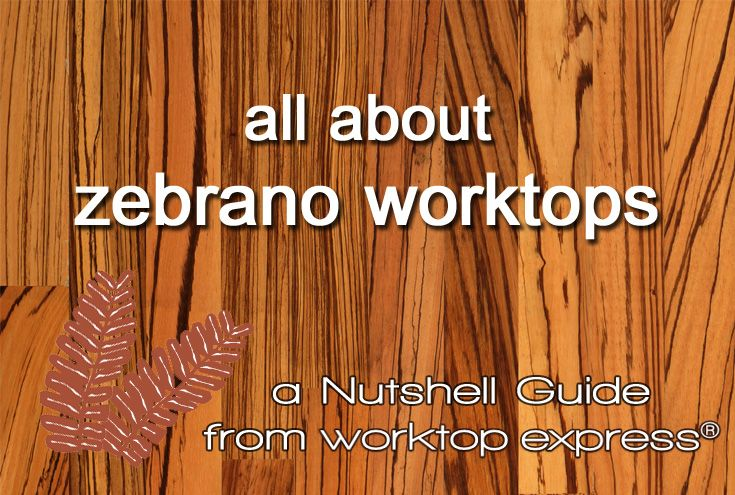 If you are looking for more information about our fabulous zebrano worktops, read our 'Nutshell' guide.  Each guide comprehensively covers the science, history, sourcing and manufacture of each of the timbers in our range: http://www.worktop-express.co.uk/information_guides/zebrano-worktops-worktop-express-nutshell-guide/