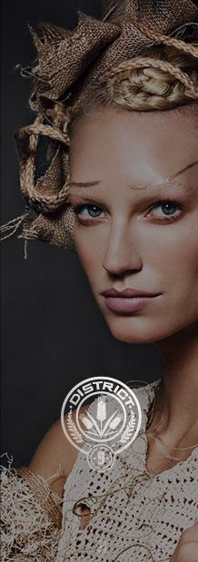 District Looks Inspired by Hunger Games Catching Fire - Check this out from Cover Girl: District 9: Grain