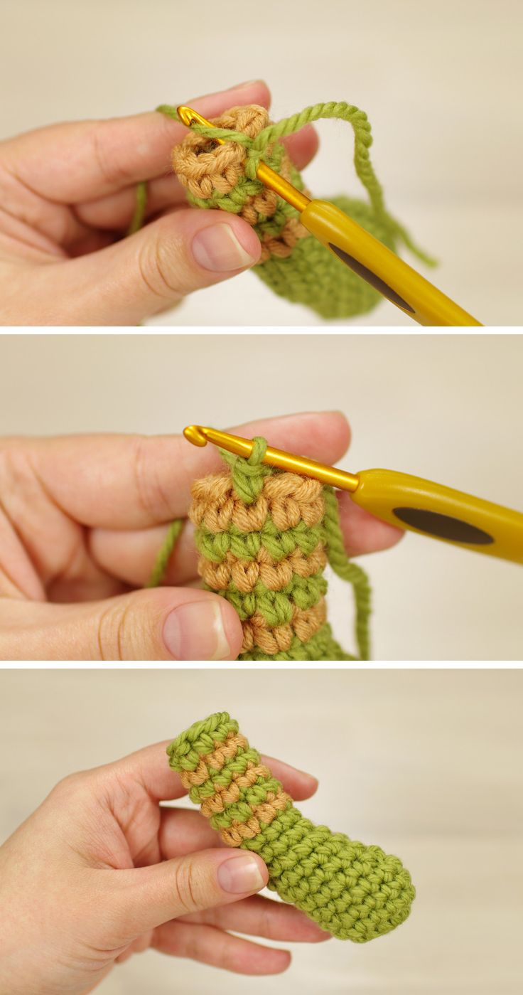 Crochet Tutorial: Joining rounds for perfect stripes (sidrun.spire.ee)