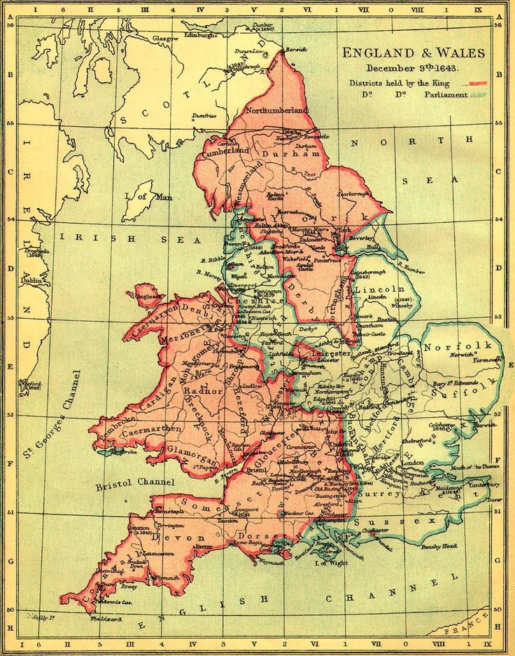 england and wales during the english civil war december