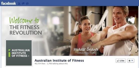 Australian Institute of Fitness #Facebook #CoverImage. #SocialMedia