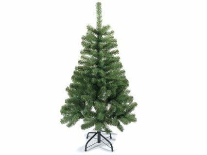 Pino abete albero di Natale artificiale Stelvio a 206 rami e con base in metallo  Misure: Ø 71 x 120 H Materiale: Plastica Utilizzo: Fiori artificiali