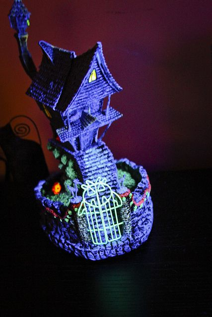 Tim Burton's Nightmare Before Christmas Village Collection - Jack's House - this thing is awesome.