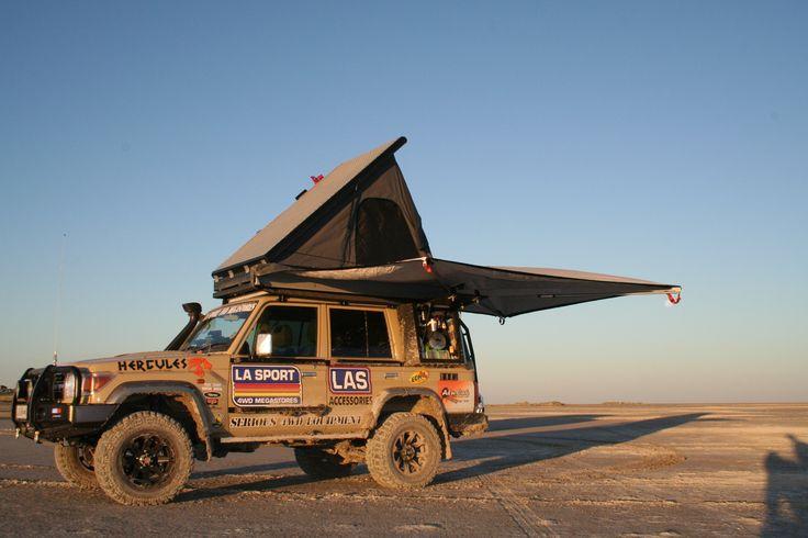 Camp easy to setup - Alu-Cab, Botswana