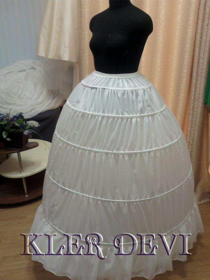 Кринолин для свадебного платья очень пышный в виде шара от Kler Devi