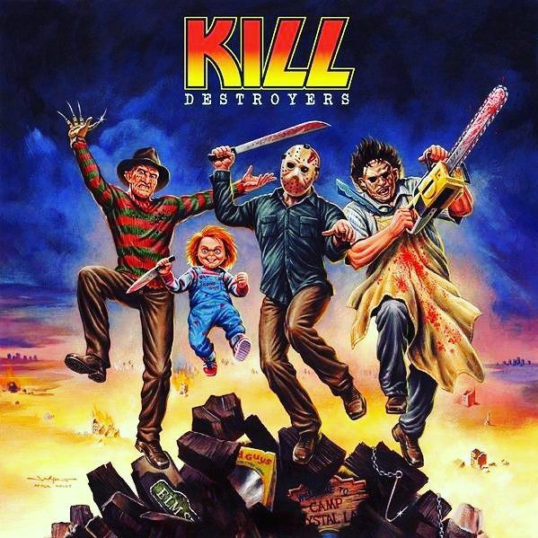 Feliz #DiaDoRock galera. #vilões #Rock #villains #rocknroll #kiss #kill #horrormovies #filmedeterror #Trilhadomedo