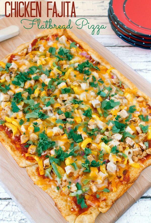 chicken fajita flatbread pizza recipe flatbread pizza. Black Bedroom Furniture Sets. Home Design Ideas