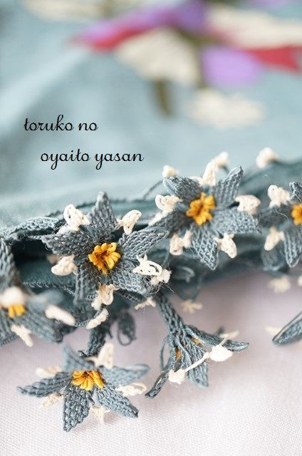 . Turkish needle lace - oya aa