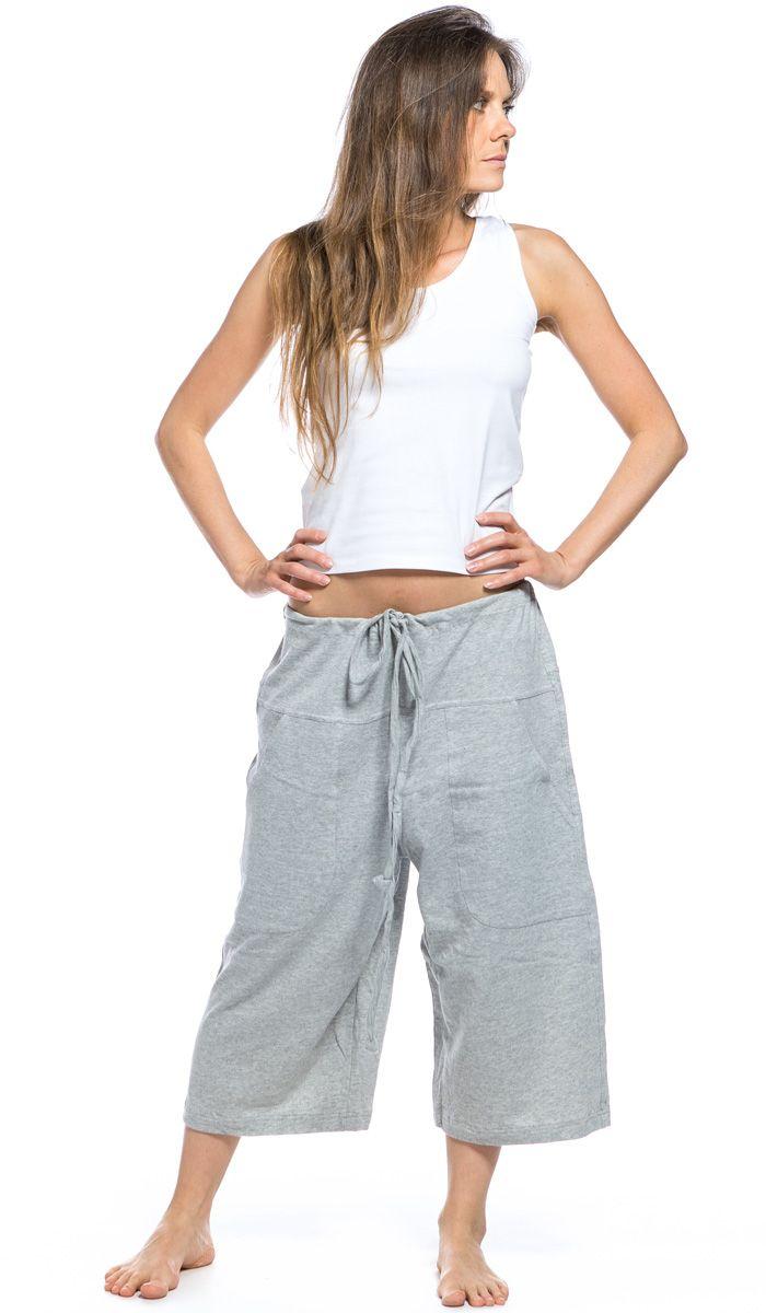 Yuga-Yoga, широкие шорты для йоги, бриджи, одежда для йоги, органический хлопок, yoga shorts, yoga clothes, organic cotton 4180 рублей