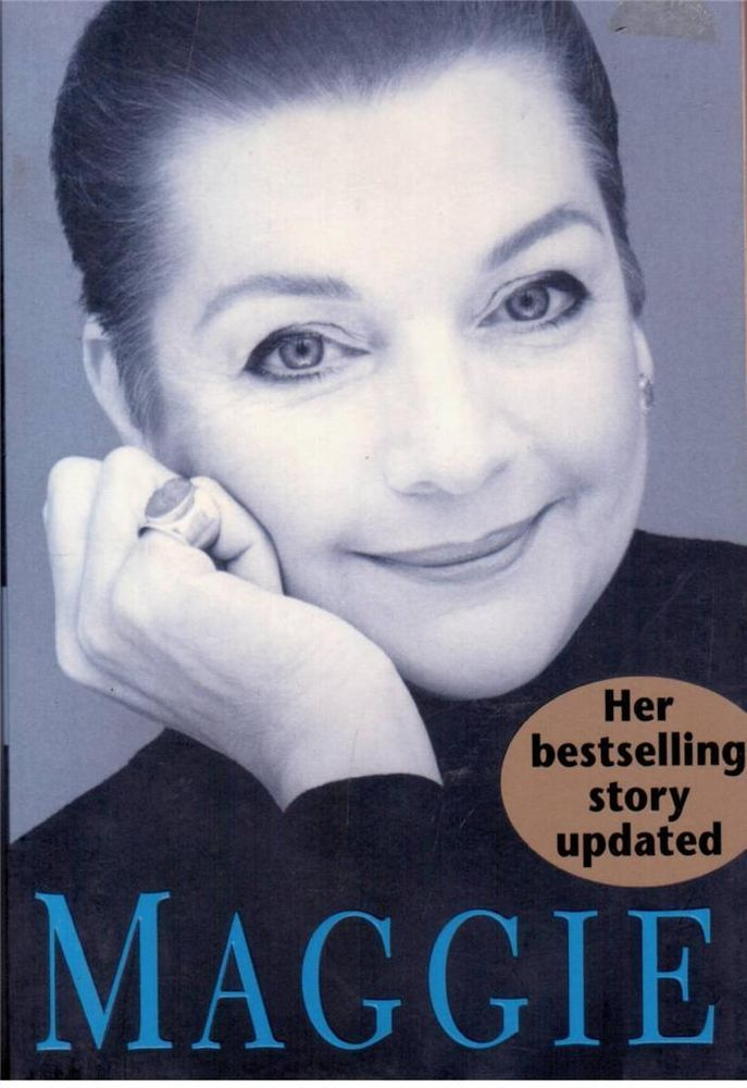 Maggie - Maggie Tabberer Autobiography - Great Read!!!!! - S/Hand - Paperback