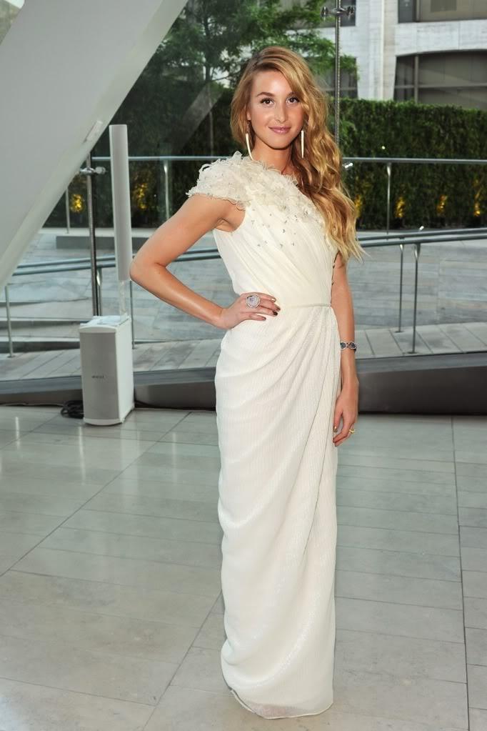 Whitney Port. Looking like a Greek goddess.