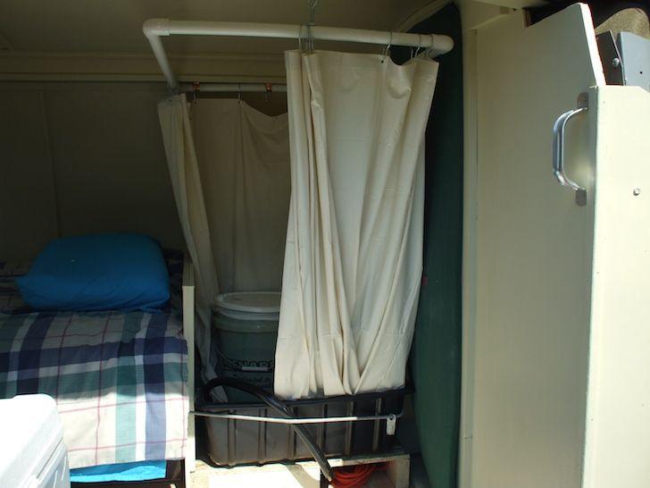 Here S How To Install A Shower In Your Van Camper Van