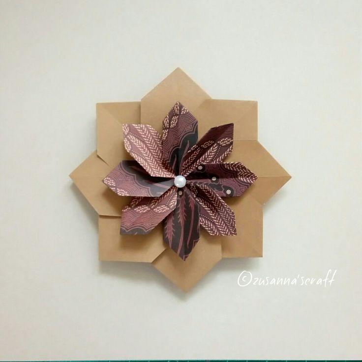 Mandala Tamba Deaigner #FalkBrito Folded by Zusanna's Craft