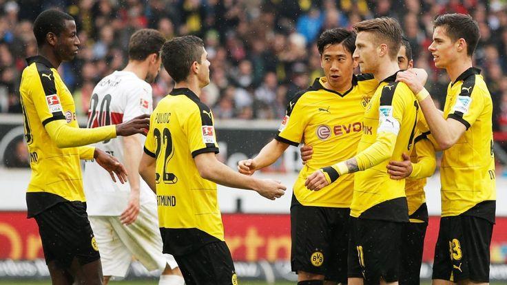 Over 200 Borussia Dortmund fans banned for Stuttgart game