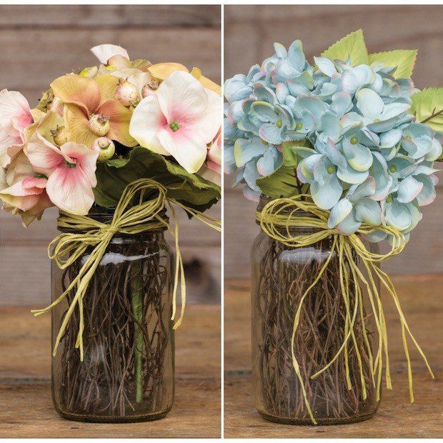 Faux Floral Arrangements | Fake Flower Arrangements | Hydrangea Bouquets