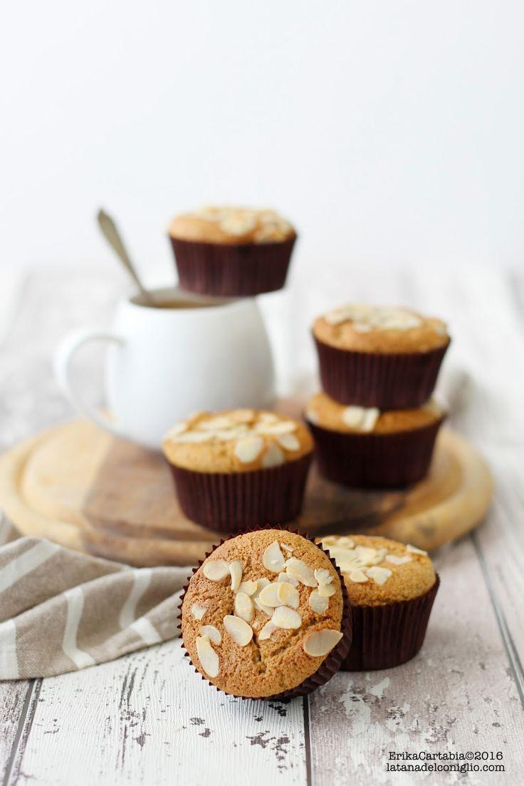 ginseng coffee almond cupcakes (gf)