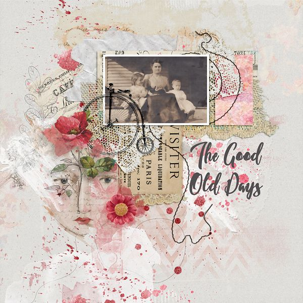 The Good Old Days by EllenT using products from the Lilypad