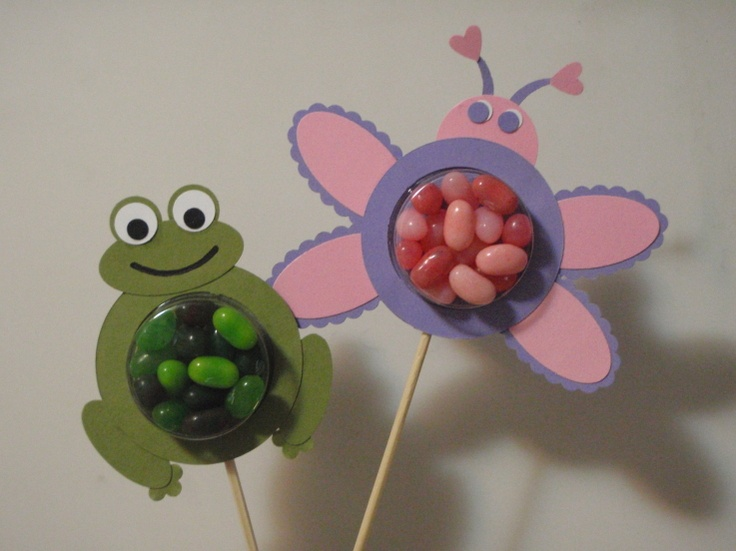 Cute treat cup critters