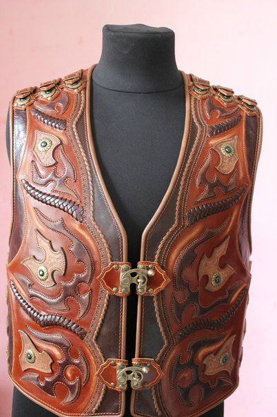 17 Best Images About Leather Apron Vest Кожанный фартук