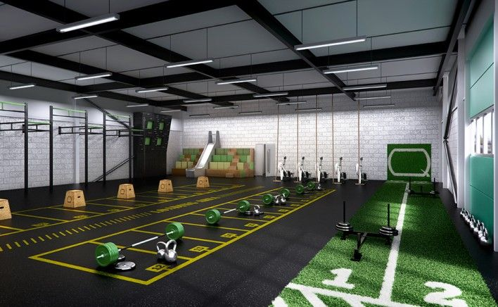 OUR STUDIO_QDOS FITNESS_GYM RENDER