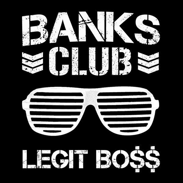 Banks Club T-Shirt - Sasha Banks x The Bullet Club  #sashabanks #sashakrew…