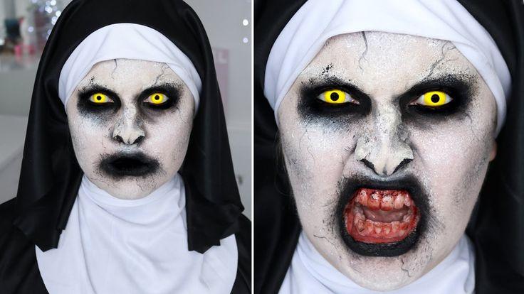 The Conjuring 2 Valak Nun ♡ SFX Halloween Makeup Tutorial
