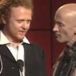 Mick Hucknall and Richard O'Brien