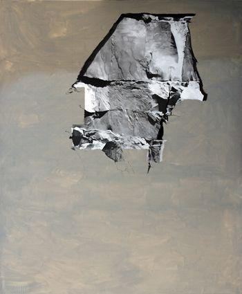 Sérgio Costa: Works - Strata #15, 2012  oil on canvas  240x200 cm