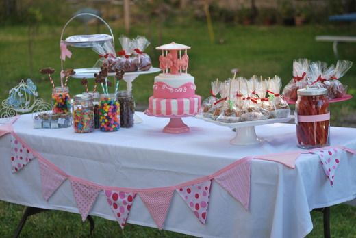 princess tea party ideas | Princess Birthday Tea Party / Birthday / Dessert Table: The sweets ...