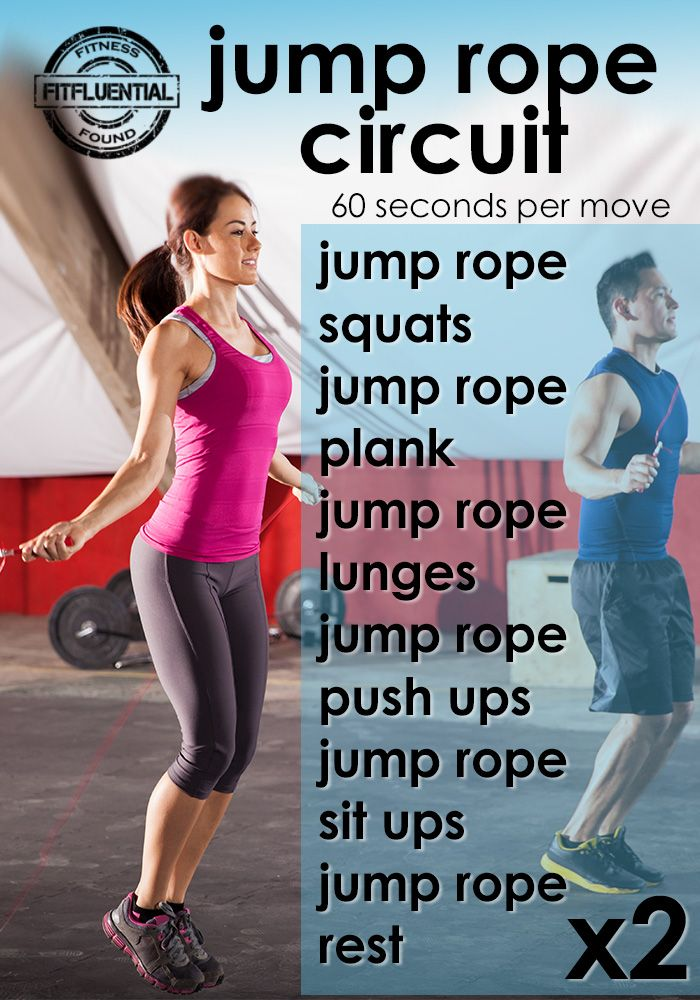 blast fat and calories with this jump rope circuit workout from FitFluential