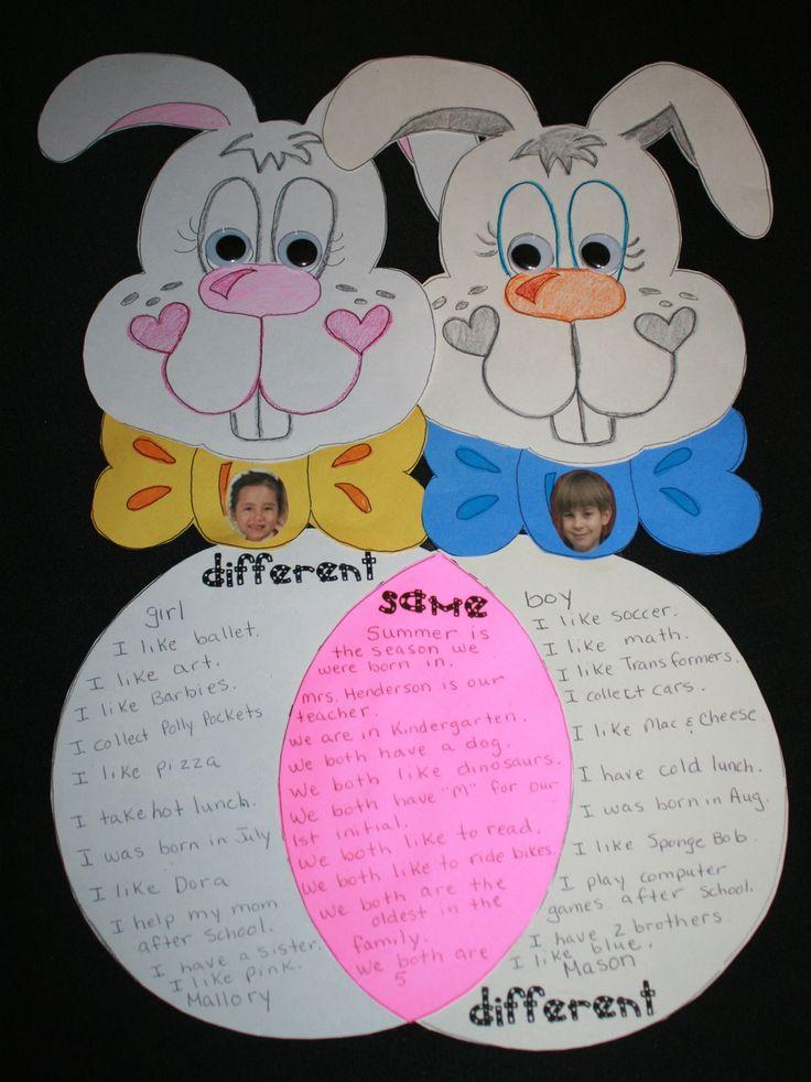 Bunny Venn Friends