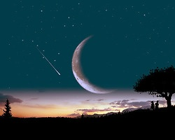 """Shooting star. I myself have never seen a shooting star so am forced to resort to the """"first star i see tonight"""" default way of star wishing. (I keep waiting and searching though! Maybe someday...)"""
