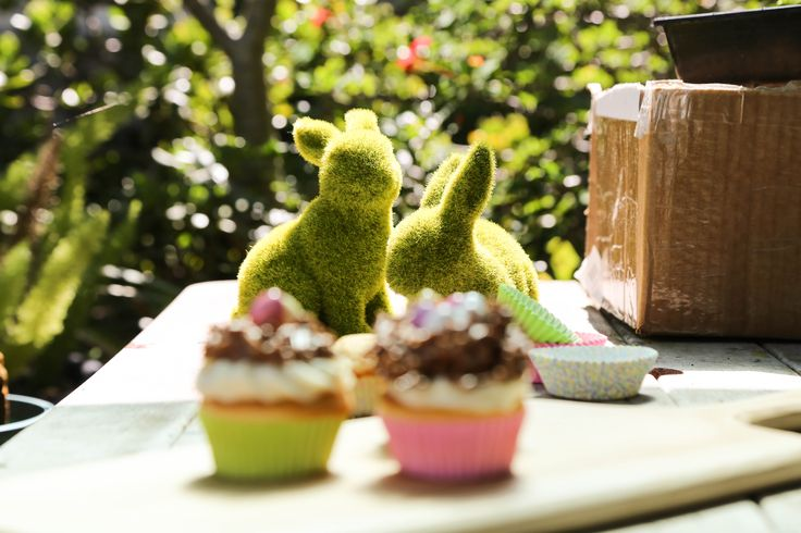 Sweet Magazine Chocolate Easter Egg Nest Cupcakes