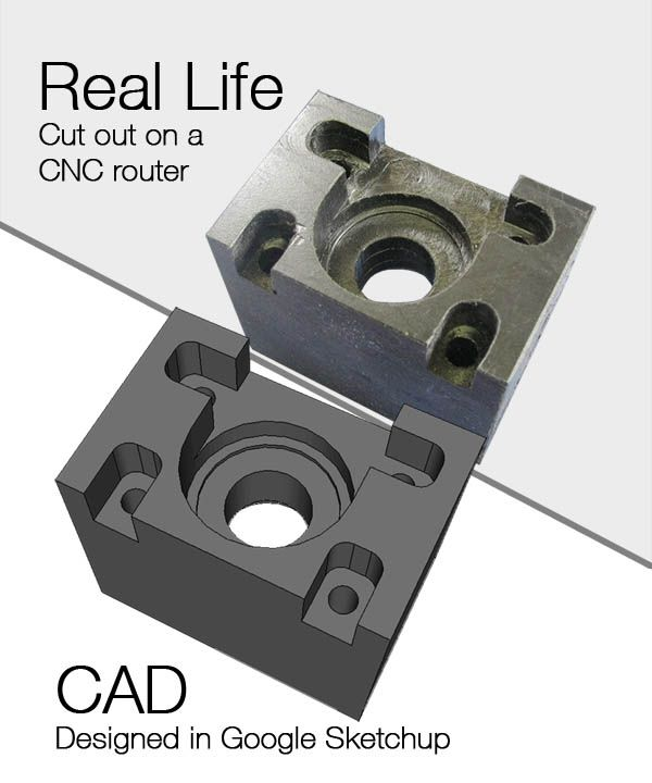 Real Life Vs. CAD (Computer Aided Design) Can You Spot The