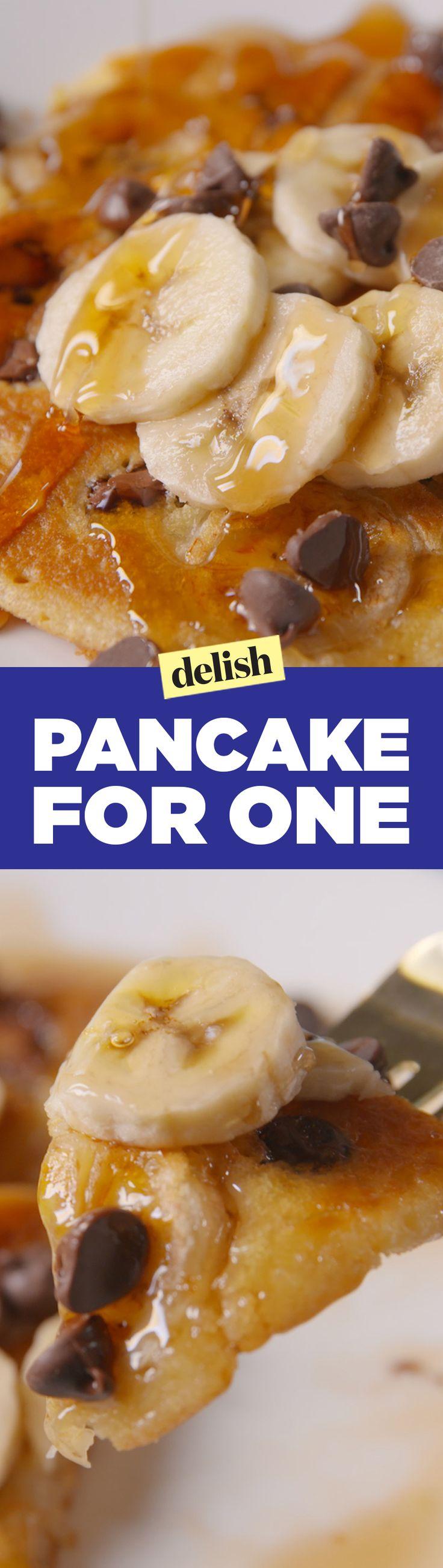 pancake recipe that makes the perfect single portion of pancakes ...