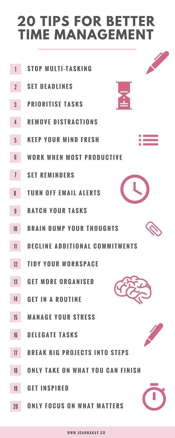 How To Use The Pillars Of Time Management To Be Su…