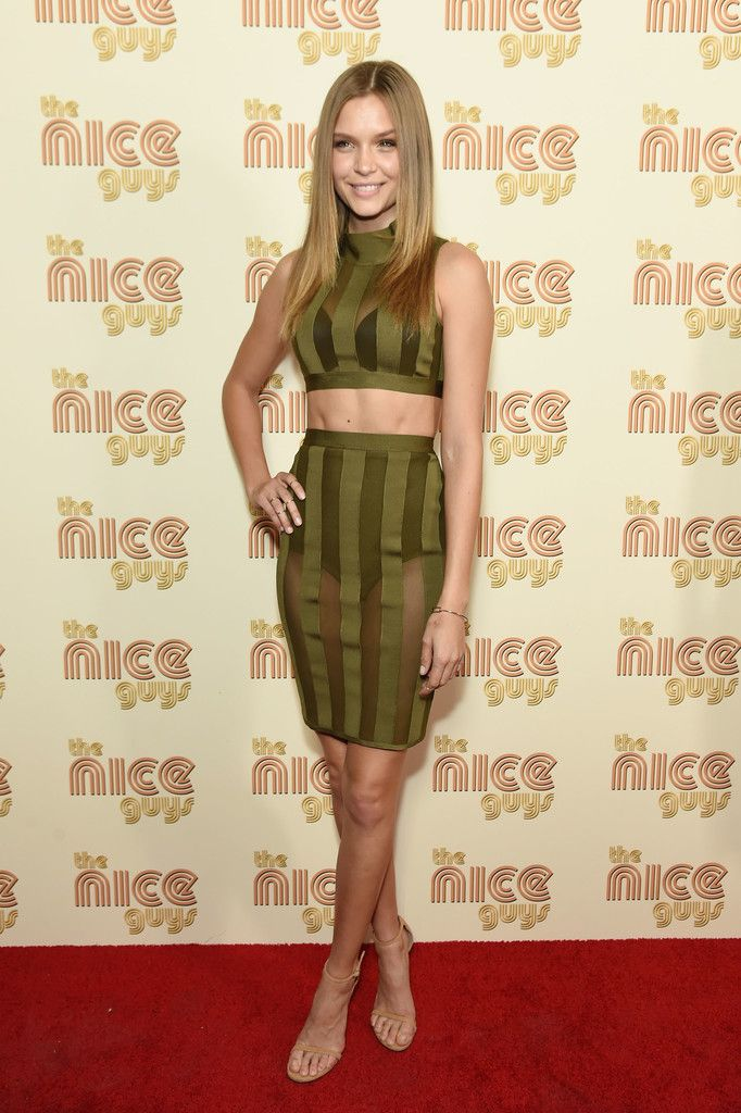 Josephine Skriver Checks Out 'The Nice Guys' Premiere in NYC