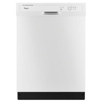 Whirlpool Front Control Dishwasher in White-WDF320PADW at The Home Depot